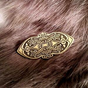Details about Fenris Bronze Small Brooch Viking Celtic SCA LARP