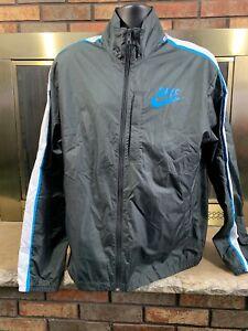 fc12073af1 Vintage Nike Air Full Zip Windbreaker Warmup Jacket Coat Mens Size ...