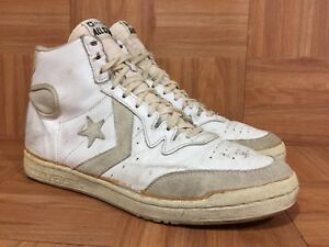 9066e13417cc Image is loading Vintage-Converse-PRO-Star-HIGH-Player-Basketball-Shoes-