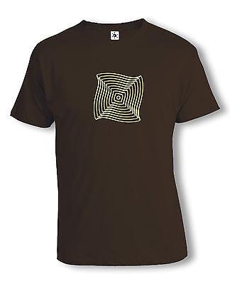 Op-Art Rad T-Shirt | Psychedelic | Acid | Techno | verschiedene Farben