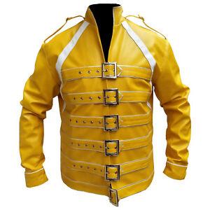 Mens Fashion Wembley Mercury Synthetic Leather Jacket