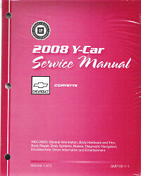 2008 chevrolet corvette factory service repair shop manual all rh ebay com Chevrolet Corvette Stingray 1972 Corvette