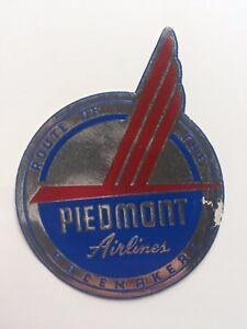 Vintage-Airline-Sticker-Luggage-Label-Foil-Piedmont-Airlines