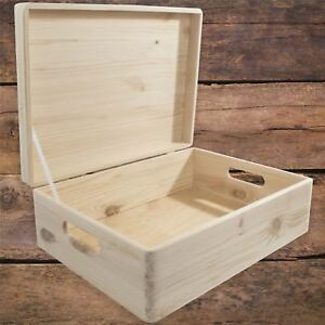 Decorative Box With Lid Storage Chest