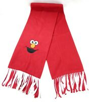 Elmo Scarf Child Or Adult 100% Fleece Machine Washable