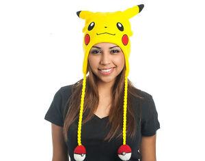 Pokemon-Gorro-de-Esqui-Yellow-Laplander-Pikachu
