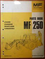 Massey Ferguson Frontlader MF 250 Ersatzteilliste