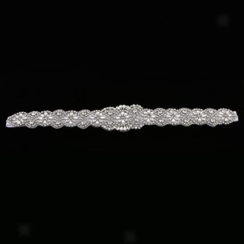 Stunning Wedding Dress Belt Crystal Rhinestone Wedding Sash Belt Accessories