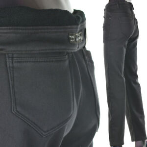 damen jeans hose winterhose thermohose winterjeans fleece gef ttert w30 38 dgrau ebay. Black Bedroom Furniture Sets. Home Design Ideas