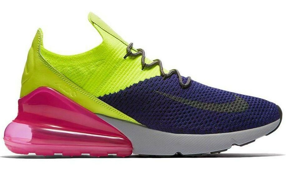 NIKE AIR MAX 270 FLYKNIT MULTI-COLOR SIZE 11 NEW FAST SHIPPING (AO1023-501)