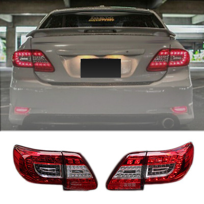 RH+LH Rear Inner Tail Lamp Taillight Fit j For Toyota Corolla sedan 2009-2010
