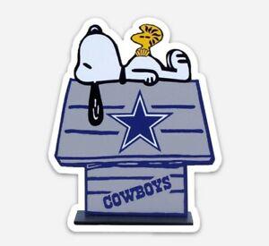 Dallas Cowboys MAGNET custom Die Cut Snoopy Woodstock NFL Football Dak