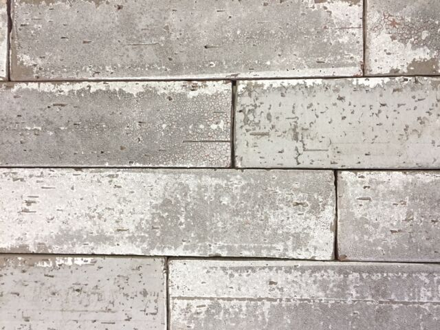 2 5x9 5 London Soft Gray Smoke Glazed Extruded Brick Wall Field Tile Kitchen For Sale Online