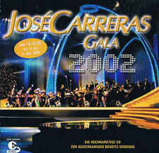 Jose Carreras Gala 2002 CD ( 17 Track )