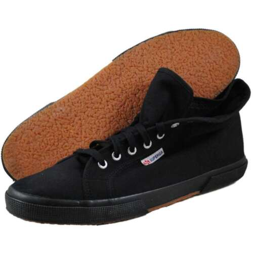 Superga Unisex NEW 2095 Cotu Full High Top Skate Shoes Canvas Casual Sneakers