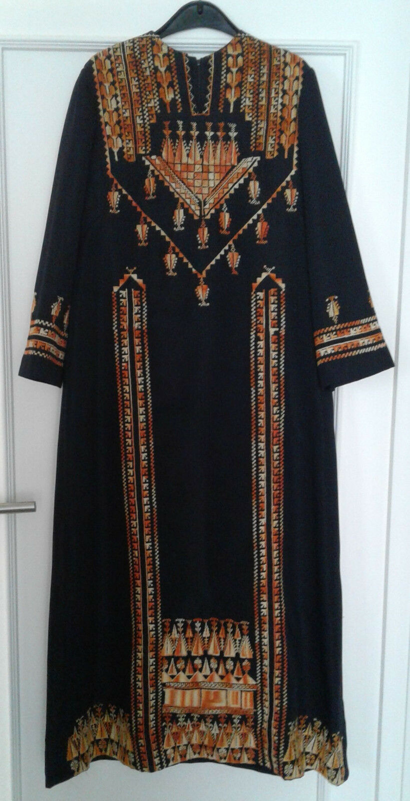 Traditionelles arabisches Kleid handBesteickt Gr. 42 44