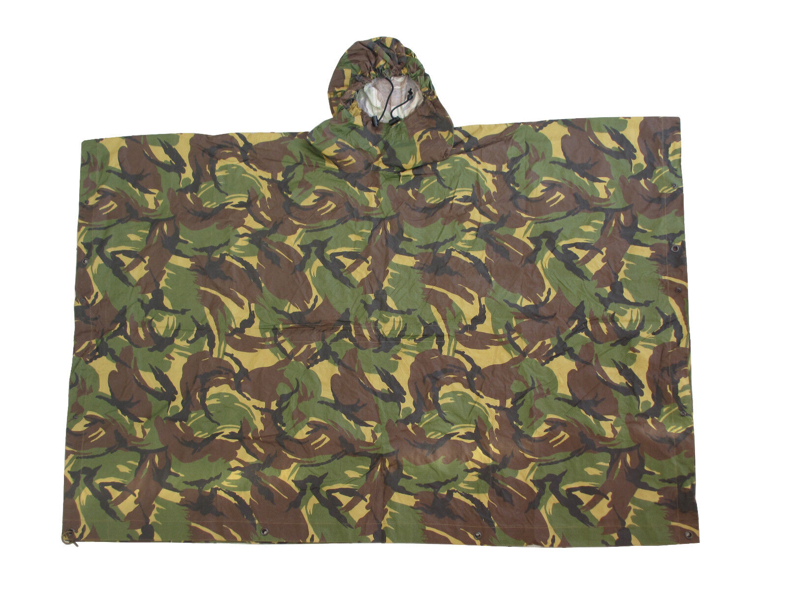 Genuine Dutch Army DPM Camouflage Hooded  Rain Poncho Grade 1  world famous sale online
