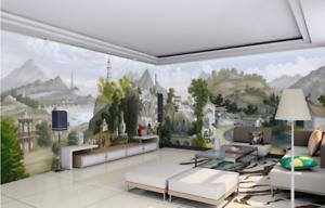 3D Klassische  Ölgemälde 864Tapete Wandgemälde Tapete Tapeten Bild Familie DE