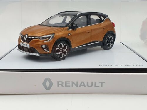 Miniatura coche Renault Captur II naranja y techo negro 1//43 Norev 7711782404