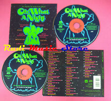 CD OH WHAT A NIGHT Compilation ISAAC HAYES JACKSONS JAMESN BROWN no mc dvd(C36)