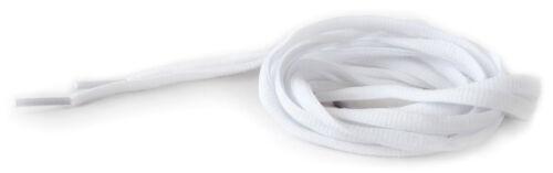 3 PAIRS Brand New ** SEMI-ROUND NYLON SHOELACES ** Combo Deal WHITE//120cm
