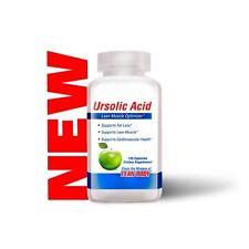Labrada URSOLIC ACID Lean Muscle Fat Loss - 120 caps BUILD MUSCLE, BURN FAT