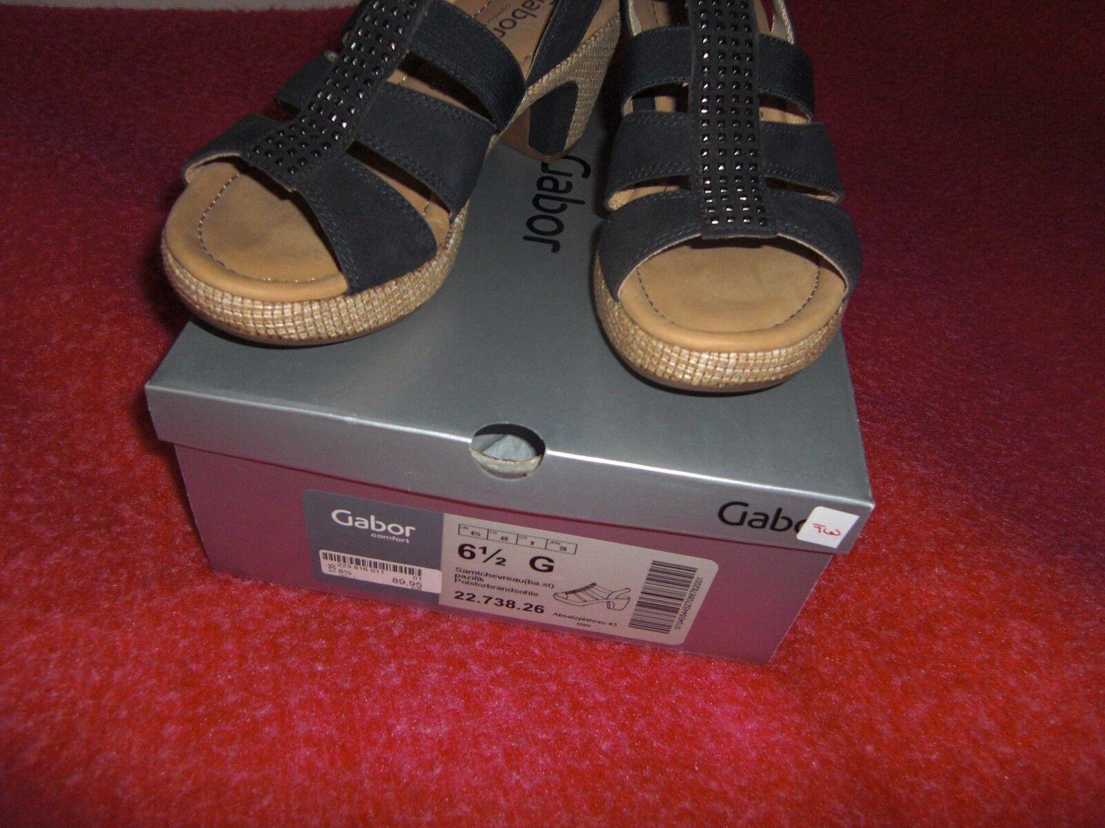 Gabor Sandalette G 6,5 G Sandalette (40) 0fcb62