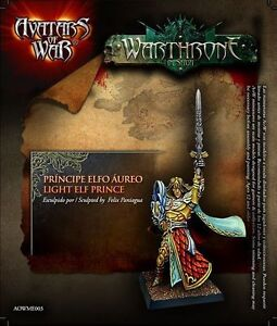 Avatars of War: Light Elf Prince - AOW03 -Warhammer Character