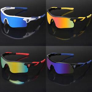 Sport-Men-Cycling-Baseball-Golf-Running-Ski-Sunglasses-Color-Mirror-Lens-Glasses
