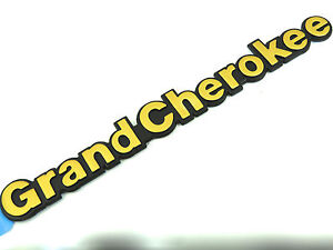 Genuine-New-JEEP-GOLD-GRAND-CHEROKEE-WING-BADGE-Side-Emblem-1993-1998-TD-4x4