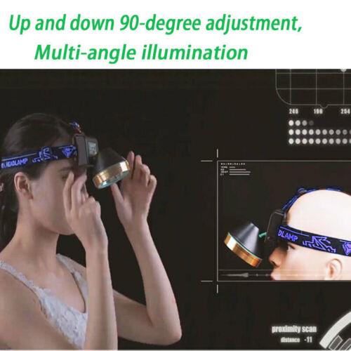 2PCS Extra Bright Head Torch Headlight T6 LED Headlamp Running Fish Work Light