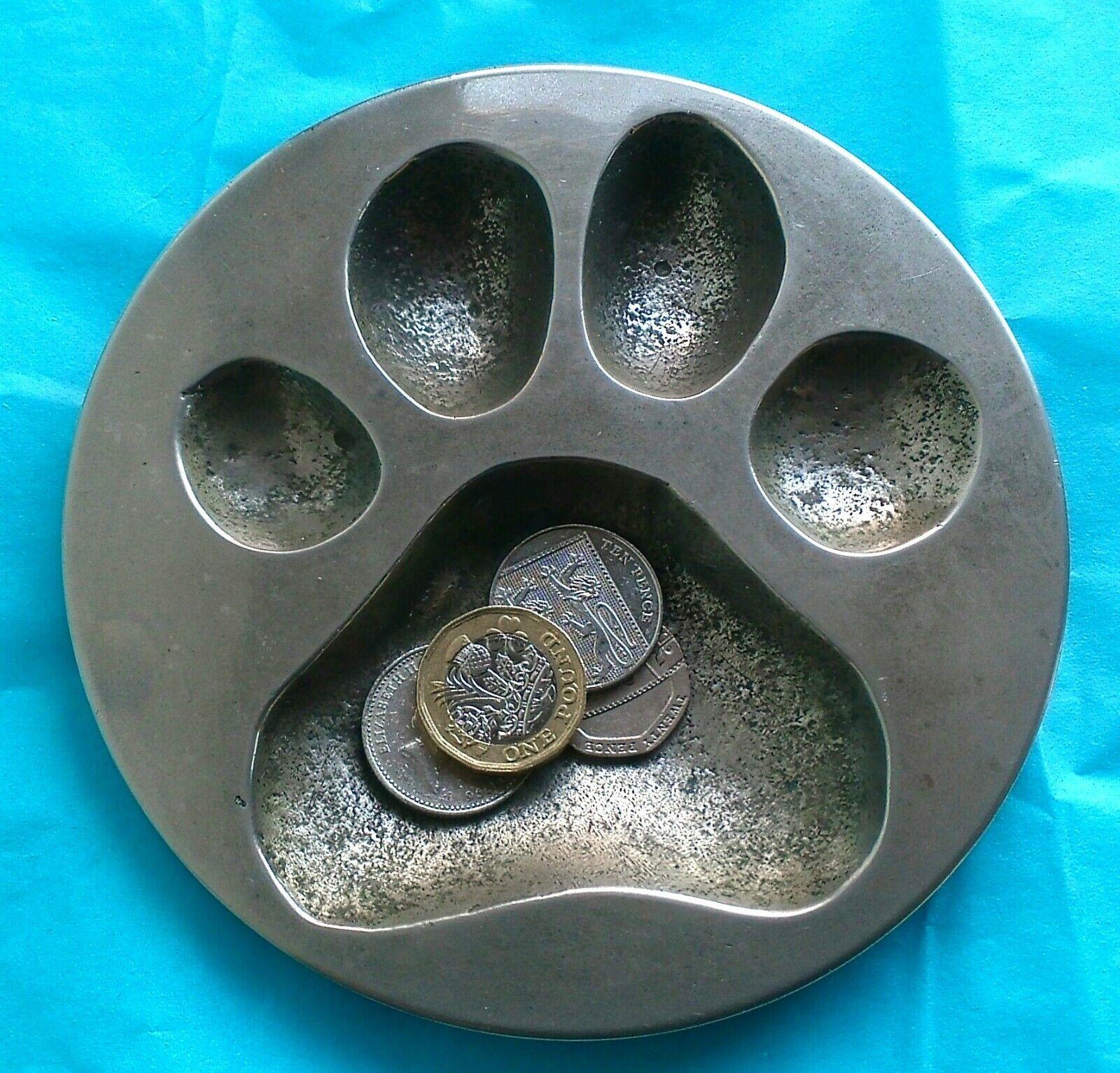 Impresión de la pata de perro grande Heavy Metal Clave/moneda PLATO industrial 13.5 CMS 1kg