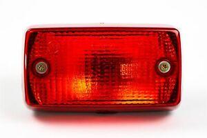Universal Heck Rot Nebel Licht Rechteckig Lampe Anhänger Traktor Lkw Van Caravan