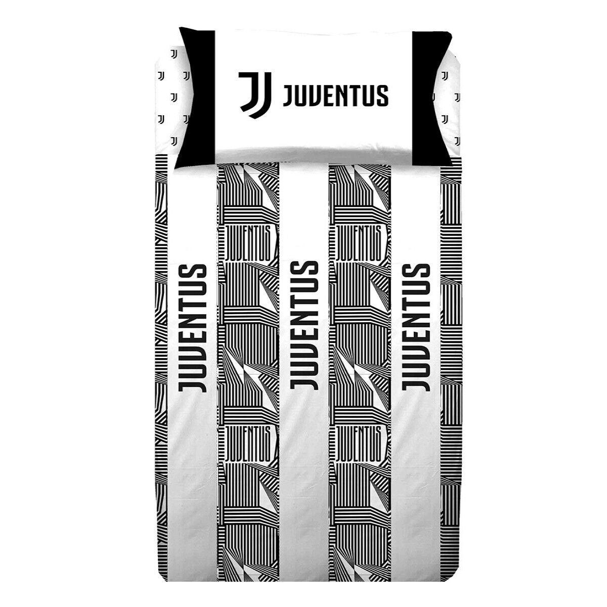 Completo lenzuola F.C. Juventus Juve Ufficiale letto Una piazza e mezza T931