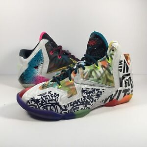 814696a1a76c5 Image is loading Nike-Lebron-11-XI-What-The-Lebron
