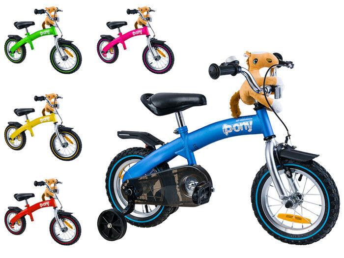 Laufrad Fahrrad Kinderlaufrad Kinder Rider Lauflernrad Balance Bike 12  2in1 NEU
