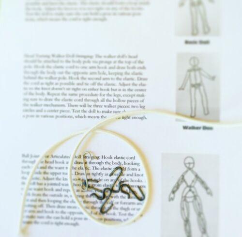 Kit To Restring 12-16 Inch Dolls Repair Fix Restore Doll Toni Betsy McCall