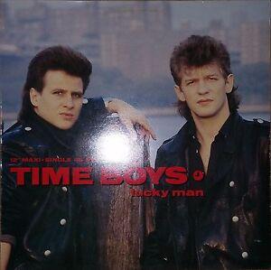 """Time Boys - Lucky Man (Lucky Mix), Rare 12""""Maxi, CBS 650035 6, 1986 - München, Deutschland - Time Boys - Lucky Man (Lucky Mix), Rare 12""""Maxi, CBS 650035 6, 1986 - München, Deutschland"""