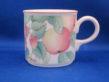 Villeroy & Boch CATALINA Cup Mug  Fruit Leaves Blue Tit Bird Strawberry Flowers