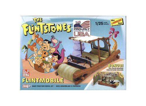 Modell Auto die Familie Feuerstein beinhaltet dekoriert enthält Satz