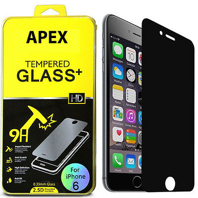 Anti-Spy Peeping Privacy Tempered Glass Screen Protector for Apple 4.7 iPhone 6S
