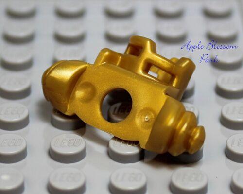 New Lego Ninjago GOLD SCABBARD ARMOR Minifig Shoulder Katana Sword Weapon Holder