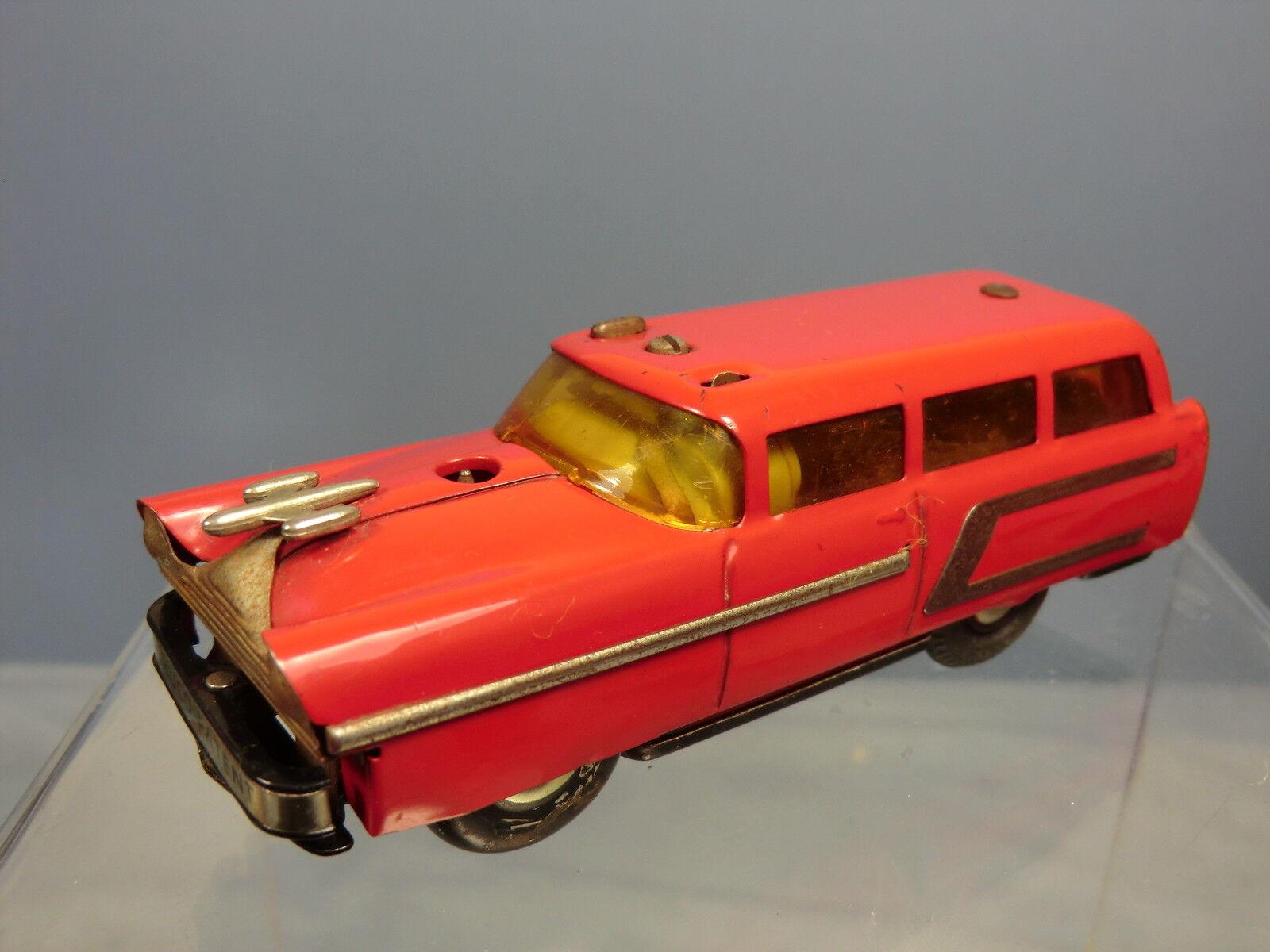 VINTAGE  SCHUCO BATTERY OPERATED MODEL No.3118 VARIATO ELEKTRO STATION CAR