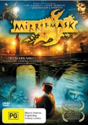 1 of 1 - Mirror Mask (DVD, 2006) Region 4 (VG Condition)