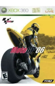 MotoGP '06 Xbox 360 game disc only 50z 2006 motorcycle kids racing