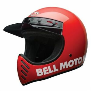 Helmet-Integral-Bell-MOTO-3-Classic-Red-Choice-SIZE-XS-XXL