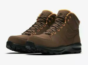 Nike Manoa Leather Men's Boots 454350 203 Fauna Brown Hiking Trail Work NIB