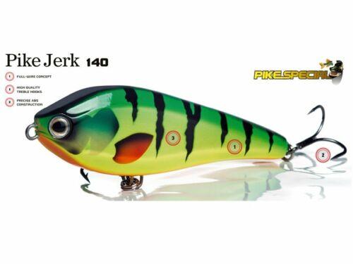 Details about  /Molix Pike Jerk 140 SS 14cm 70g Slow sinking Lure Jerkbait Handmade COLOURS