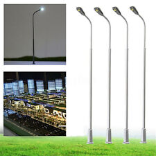 10PCS Model Railway Train Lamp Post Street Lights OO & HO Scale SMD LED Light