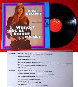 LP Katja Ebstein: Wunder gibt es immer wieder (Liberty 92 488) Clubsonderauflage